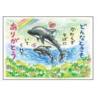 クレヨン絵描きサリー ポストカード - 79