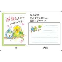 クレヨン絵描きサリー メッセージカード09