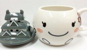 画像2: しろまるひめ蓋付きマグカップ